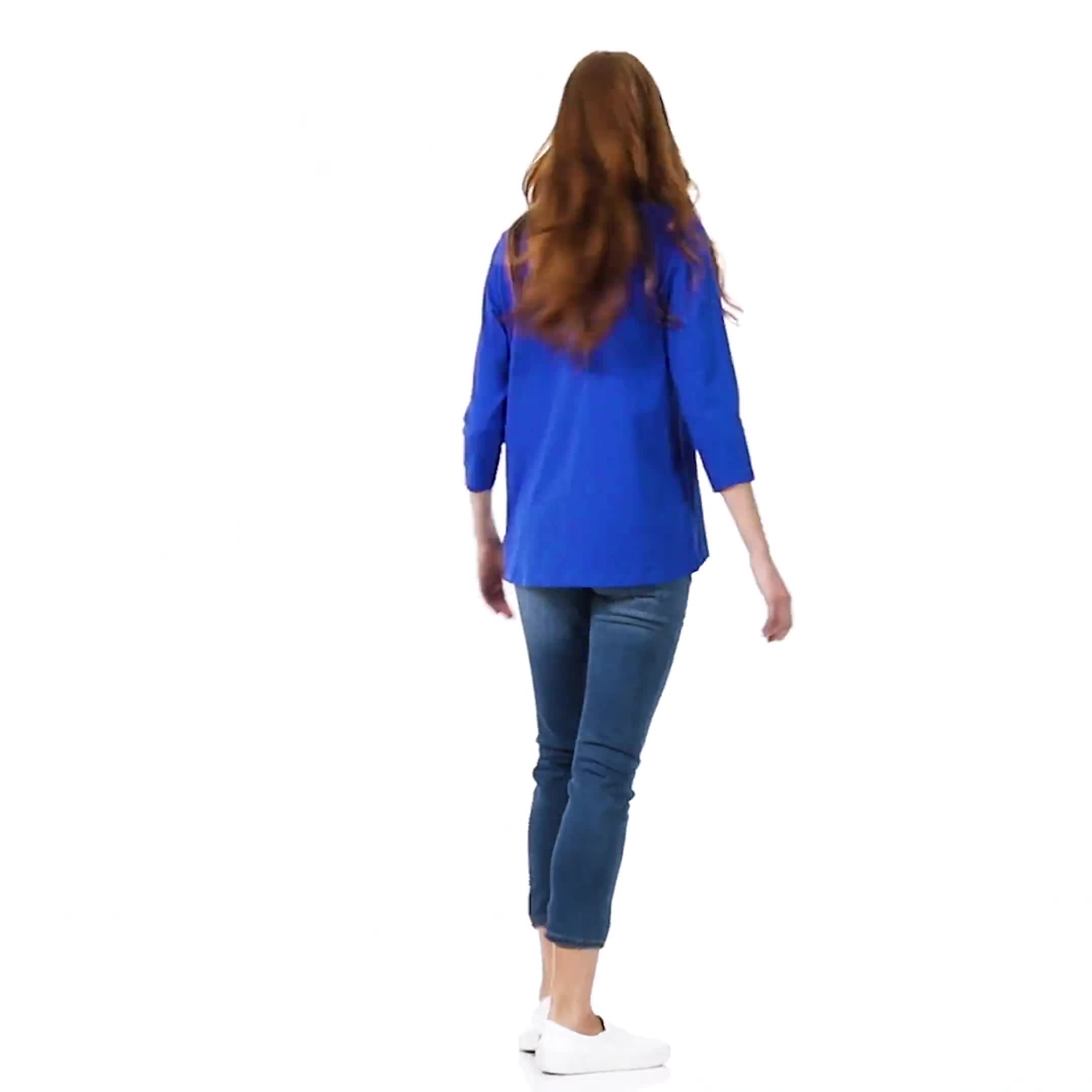 DB Sunday V Neck Stud Knit Top - Video