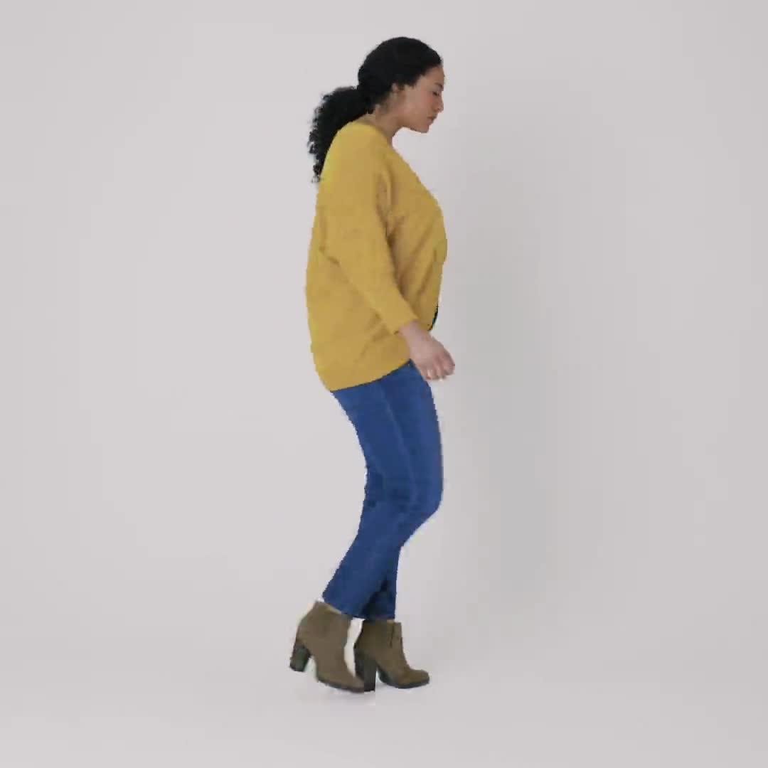 Westport Cocoon Cardigan Sweater - Plus - Video