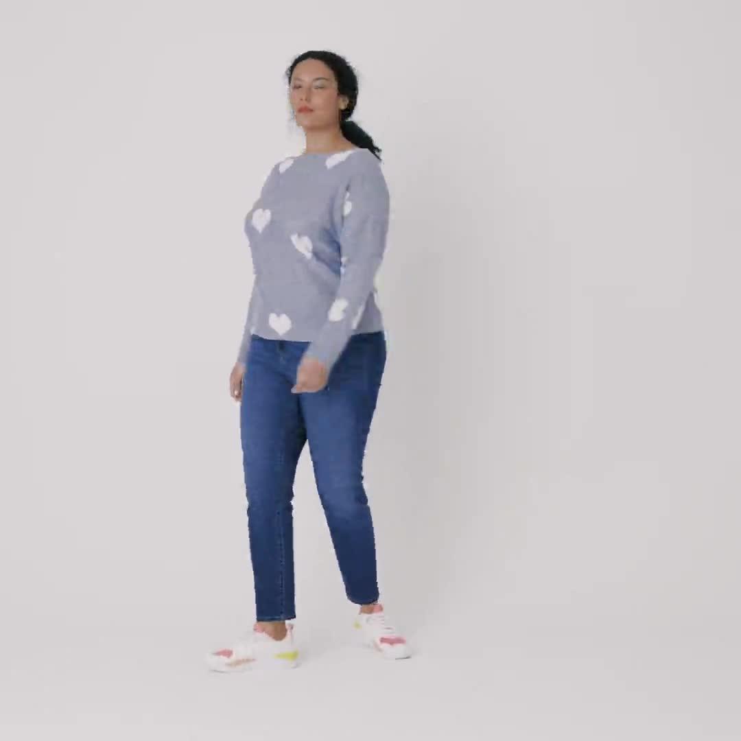 Westport I Wear My Heart on My Sleeve Sweater - Plus - Video