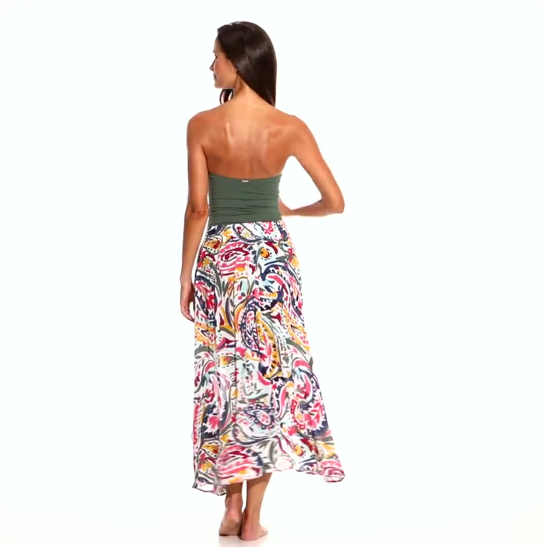 Anne Cole Ring Sarong Cover-Up Skirt - Video