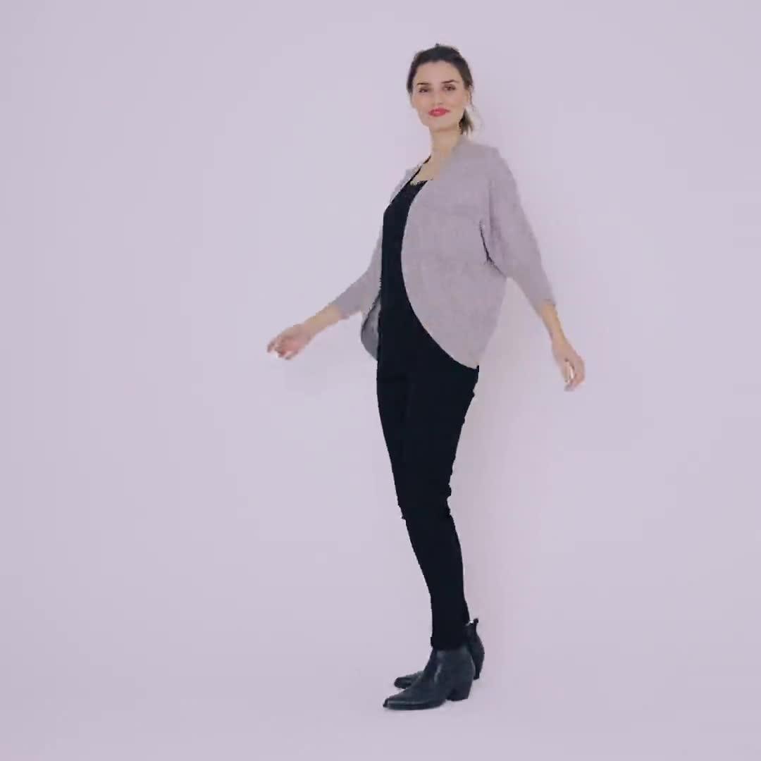 Westport Cocoon Cardigan Sweater - Video