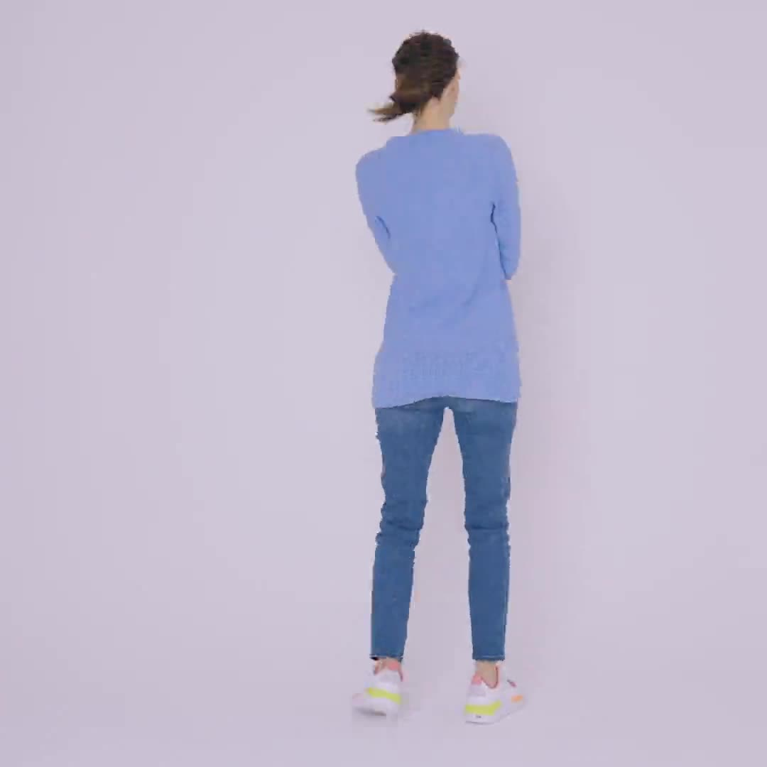 Westport V-Neck Sweater Tunic - Video