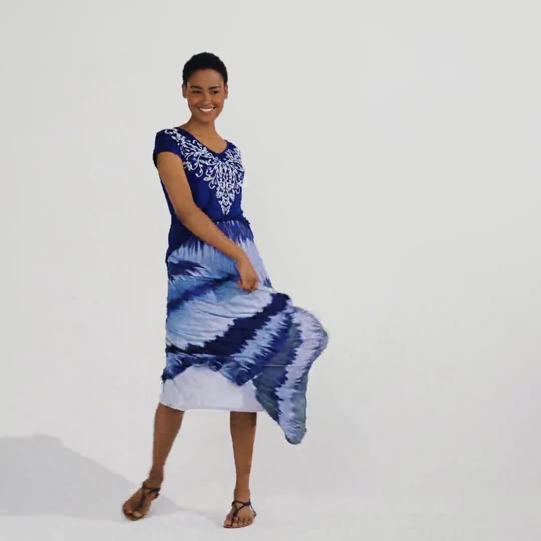 Zac & Rachel Long  Pleated Skirt - Video
