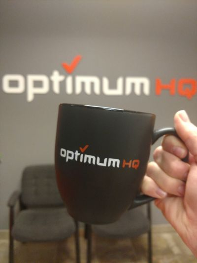 OptimumHQ coffee mug
