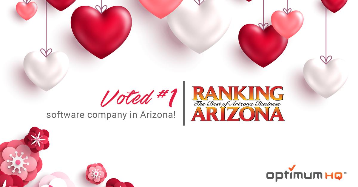OptimumHQ named #1 software company by Ranking Arizona