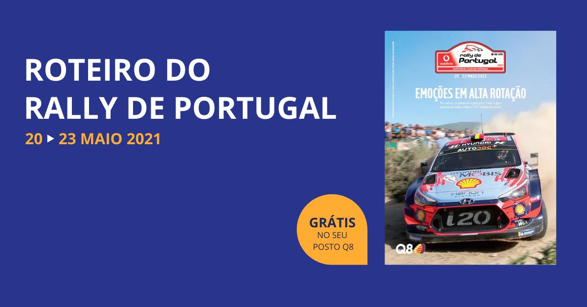 Conheça todo o programa do Rally de Portugal
