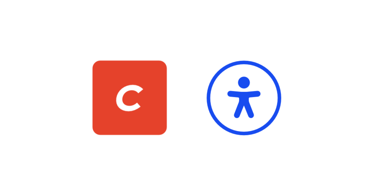 Craft CMS logo and accessibility icon.