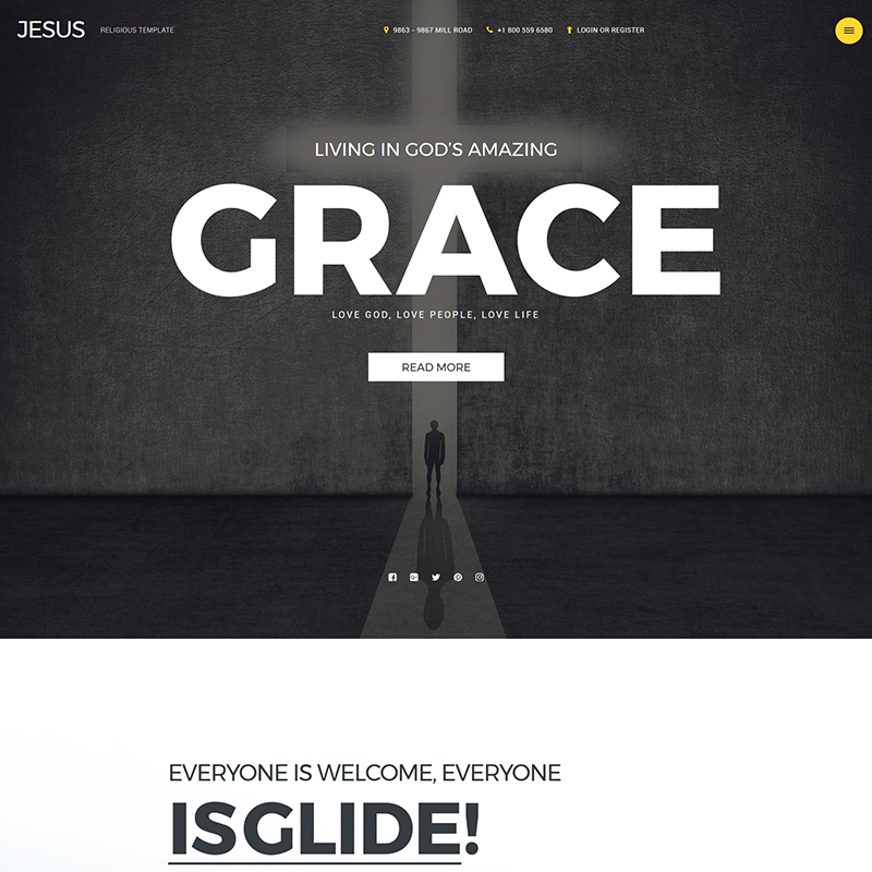 Grace Joomla Template