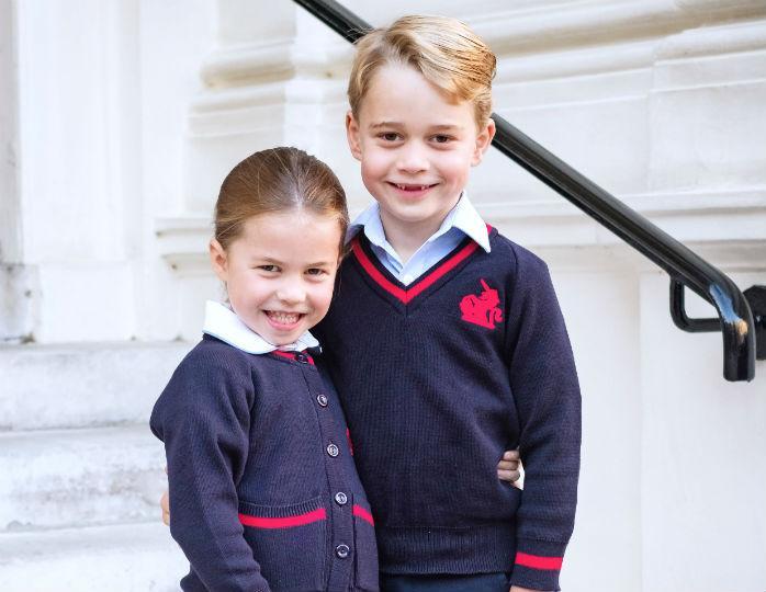 Принц Джордж и принцесса Шарлотта перейдут на домашнее обучение