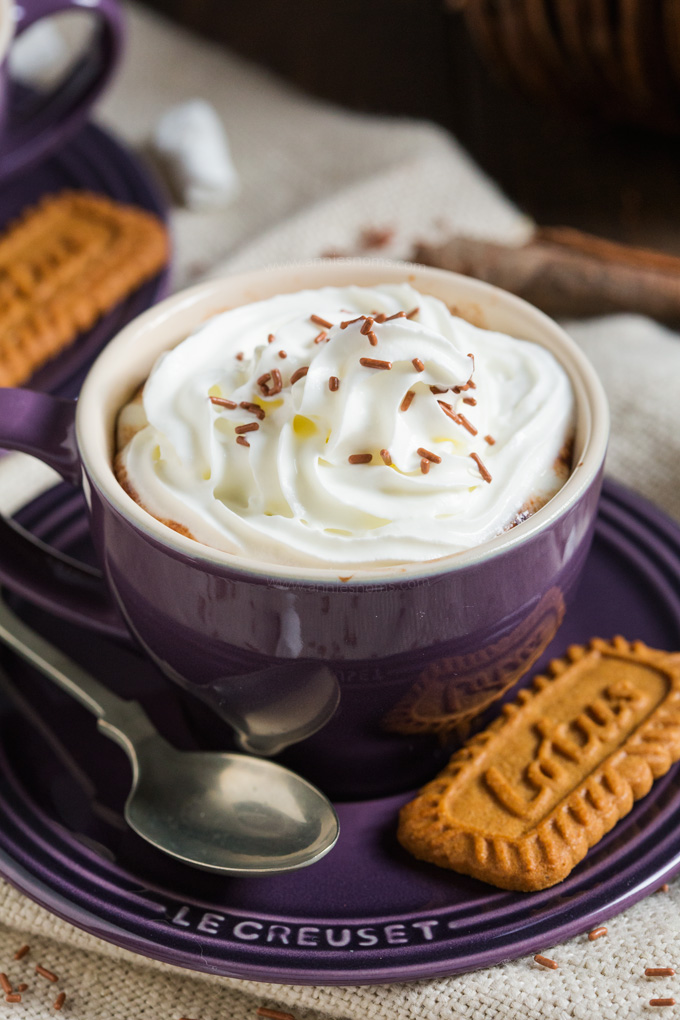 Rich and velvety smooth Pumpkin Spice Hot Chocolate is THE beverage to get you through any cold Autumn night. Sweet, rich and spicy, it also has real pumpkin in!