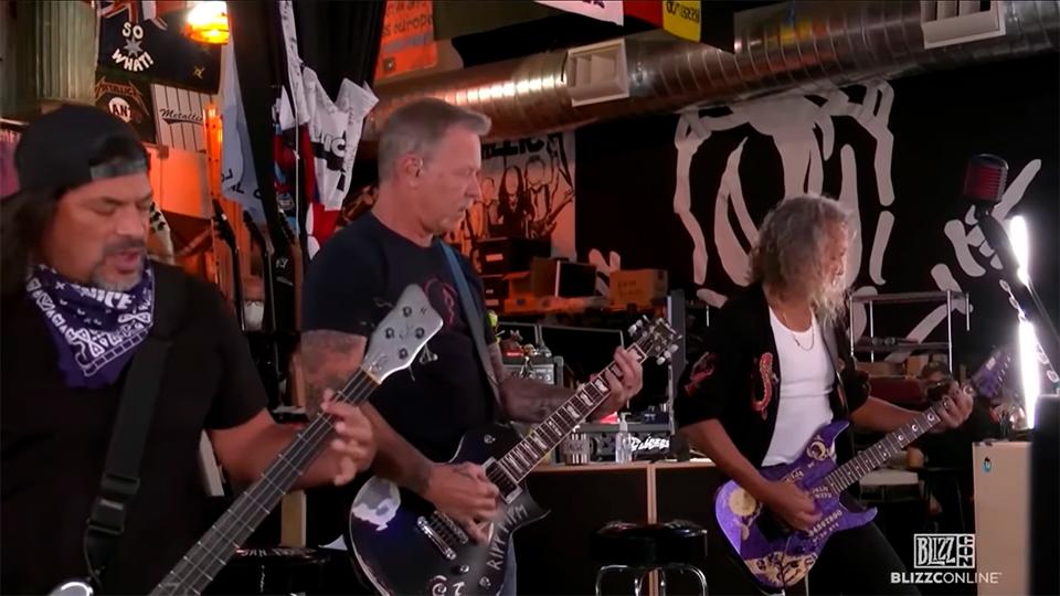 Metallica - Blizzcon 2021 - 01