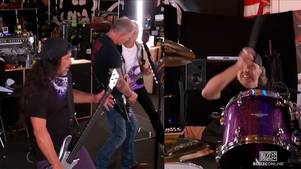Metallica - Blizzcon 2021 - 02
