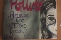 Woodhouse Park youth group artwork saying