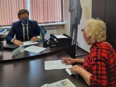 Координатор ЛДПР провел прием в граждан в Краснодаре