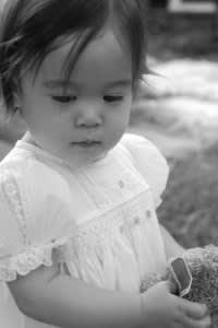 "Abbey in ""Jennifer"" Dress, black and white"