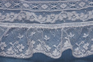 French Cotton Edging Lace at Hem
