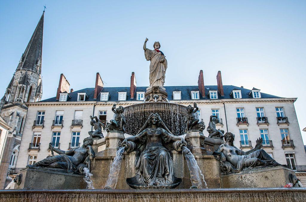 Place de la Fontaine Royale à Nantes