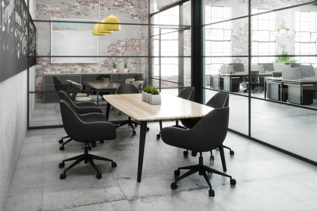 Industrial Focus Meeting Space Hd