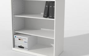 Inscape Storage Specialty Storage Bookcase 3 High