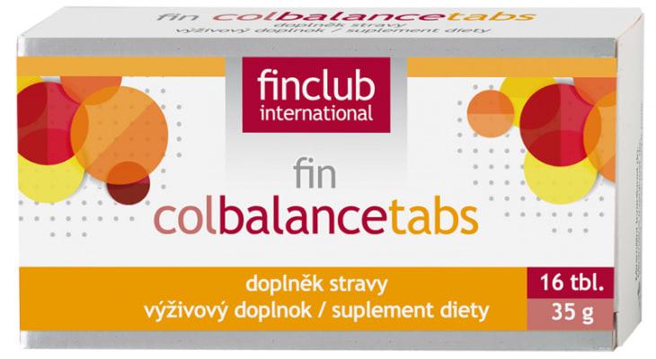 Produkt Finclubu Colbalancetabs.