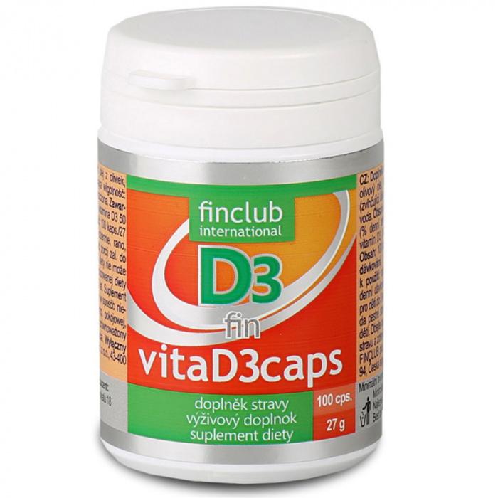 Produkt Finclubu VitaD3caps (vitamín D)