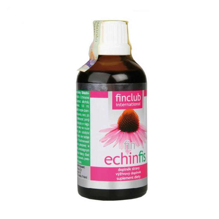 Preparát Finclubu Echinfis 100 ml (Alkoholový výtažek z echinacey)