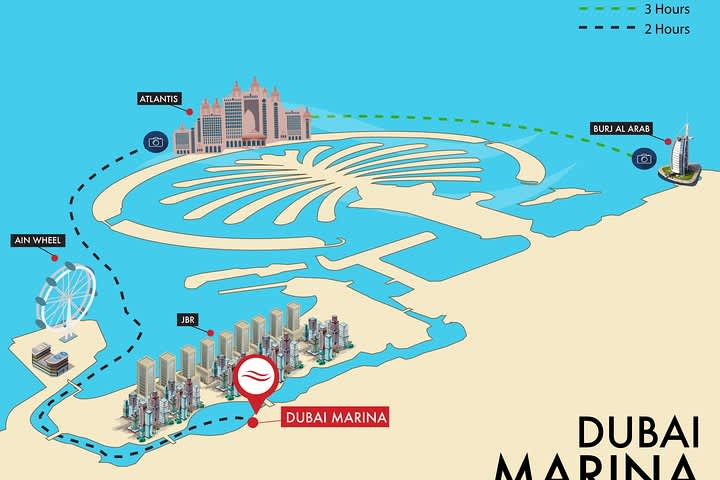 Dubai Marina Luxury Yacht Tours