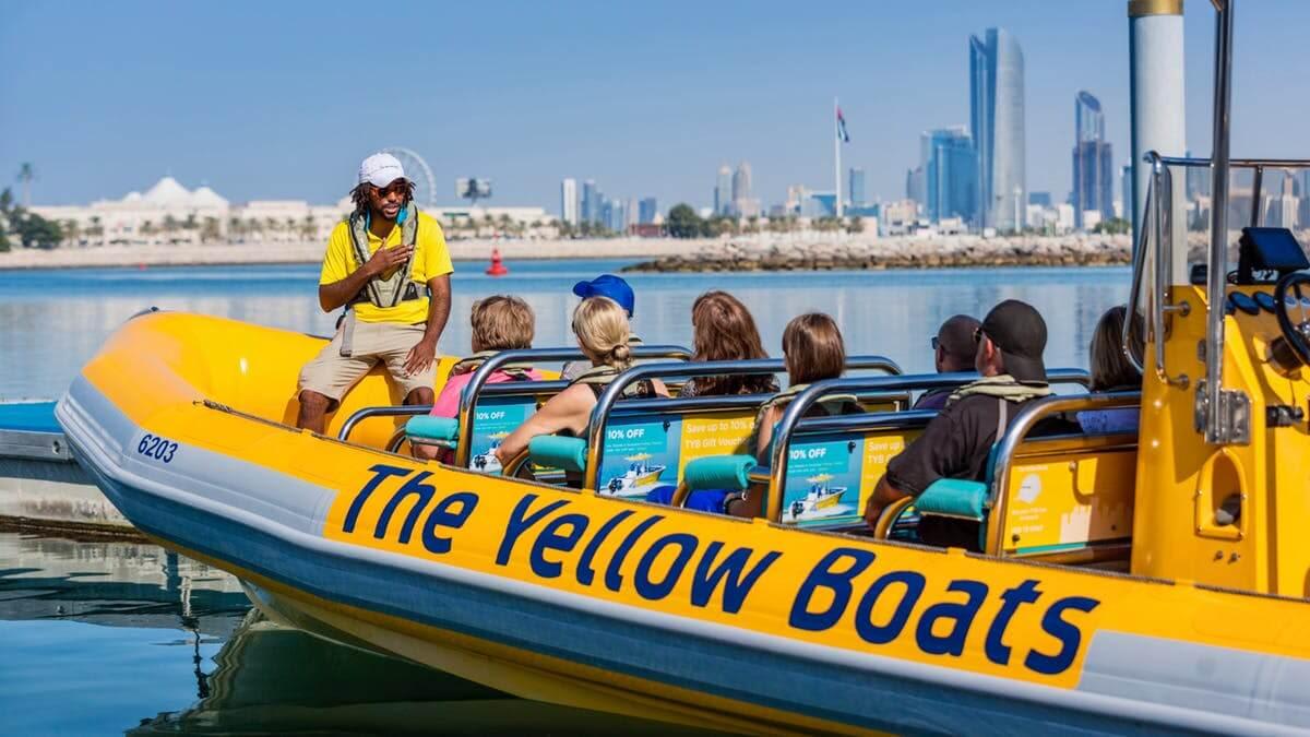 Abu Dhabi Yellow Boat Tours