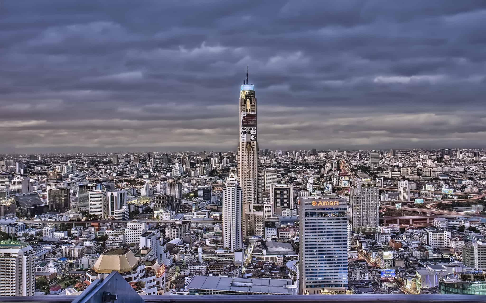 Baiyoke Sky Hotel - Observatory Point on 77th & 84th Floor