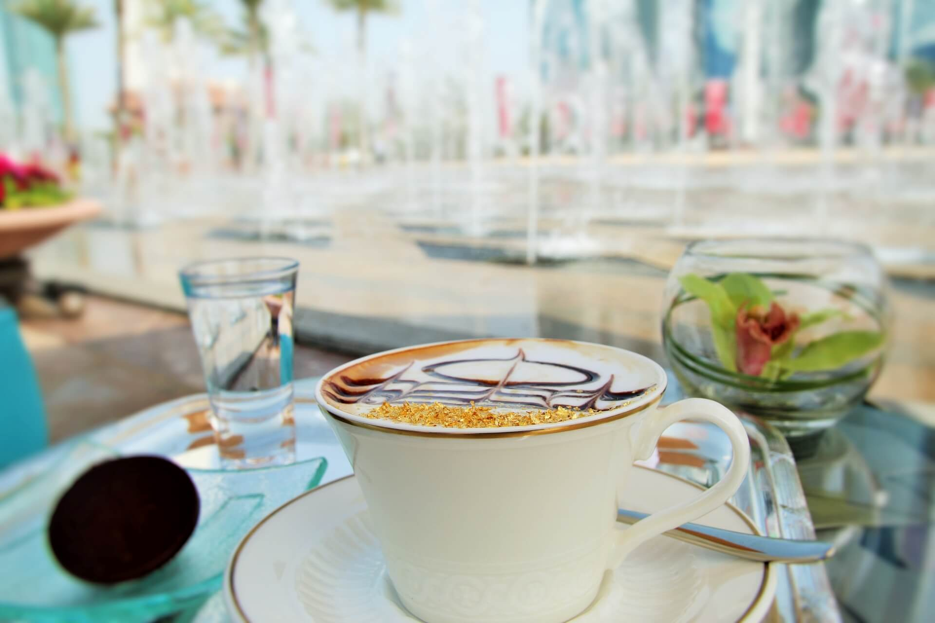 Abu Dhabi's Emirates Palace Coffee and Buffet Dine-in Options