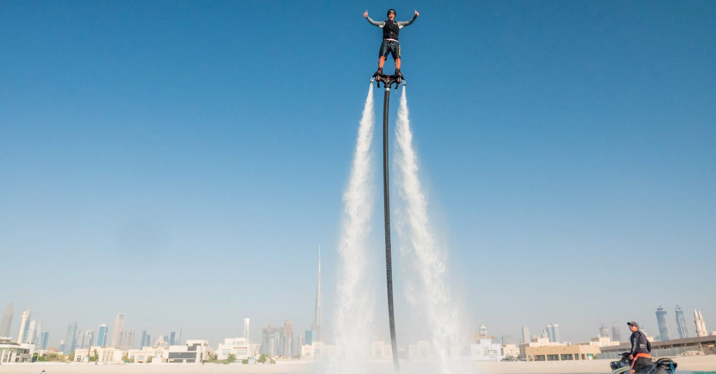 Fly Boarding Dubai Tickets