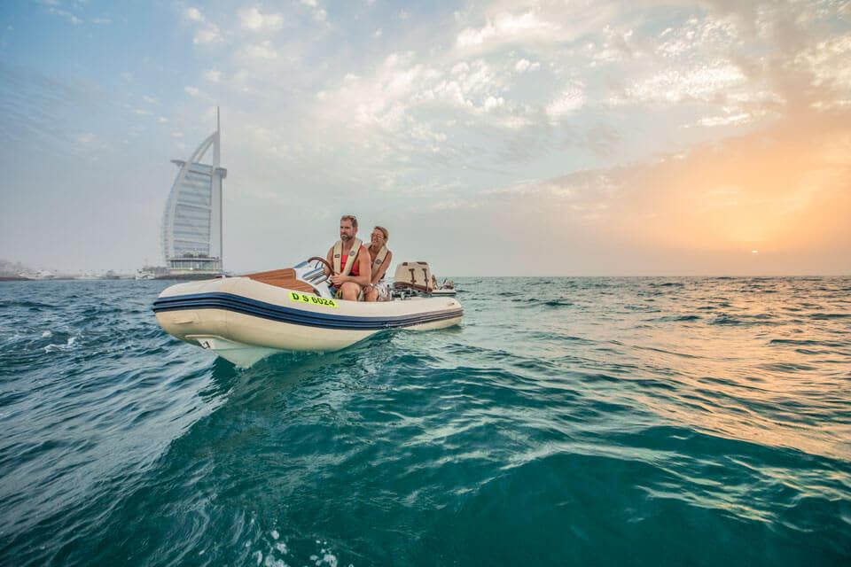 HERO OdySEA Self-Drive Boat Tour