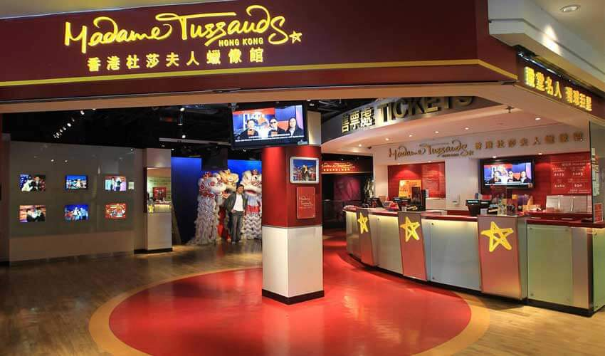 Madame Tussauds Hong Kong Tickets