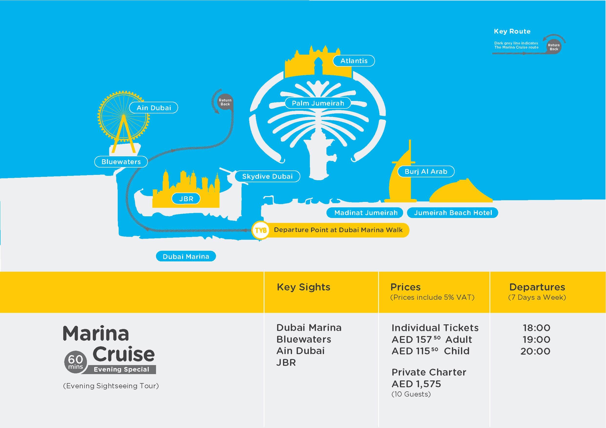 Dubai Yellow Boat Tours