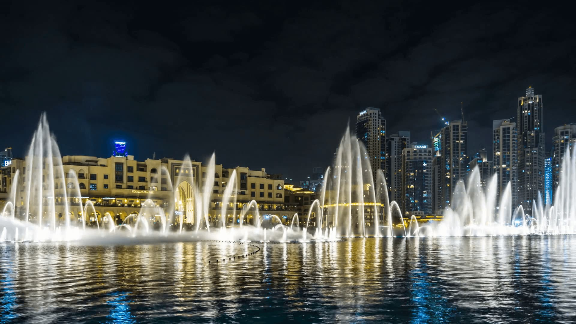 Dubai Fountain Show and Lake Ride Tickets