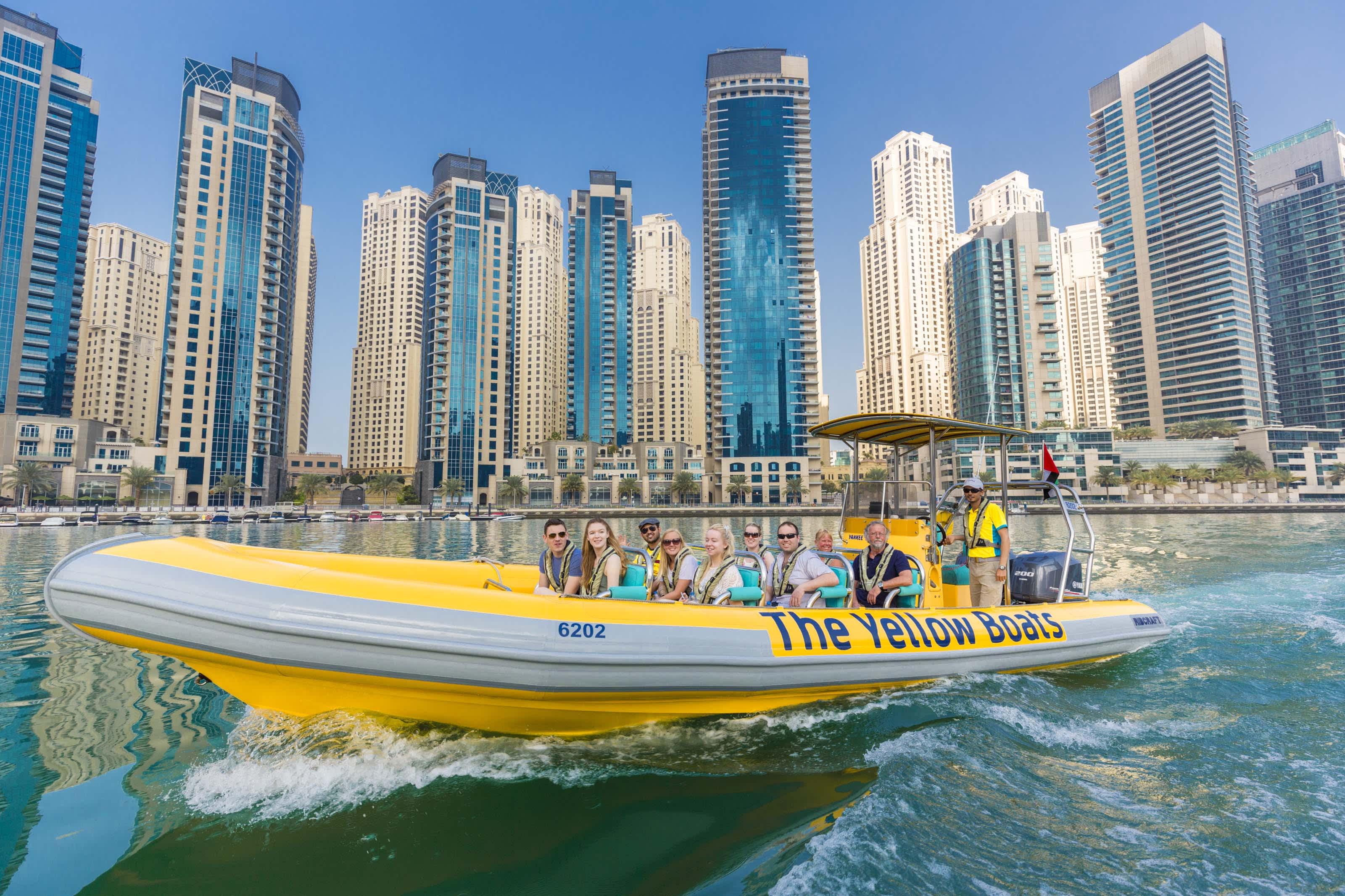 The Yellow Boats Dubai Tours