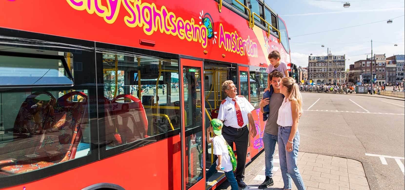 City Sightseeing Amsterdam Hop On Hop Off Tours