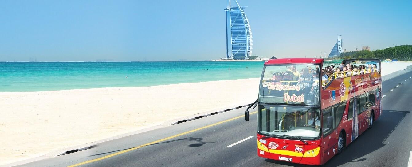 City Sightseeing Dubai Hop On Hop Off Bus Tours
