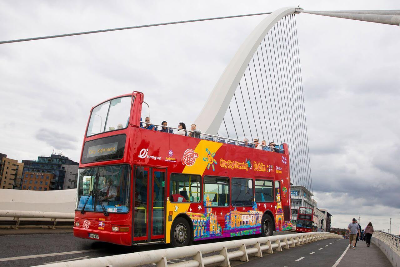 City Sightseeing Dublin Hop On Hop Off Bus Tour