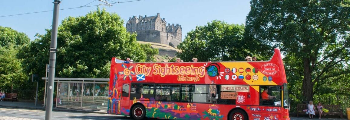 City Sightseeing Edinburgh Hop On Hop Off Bus Tour