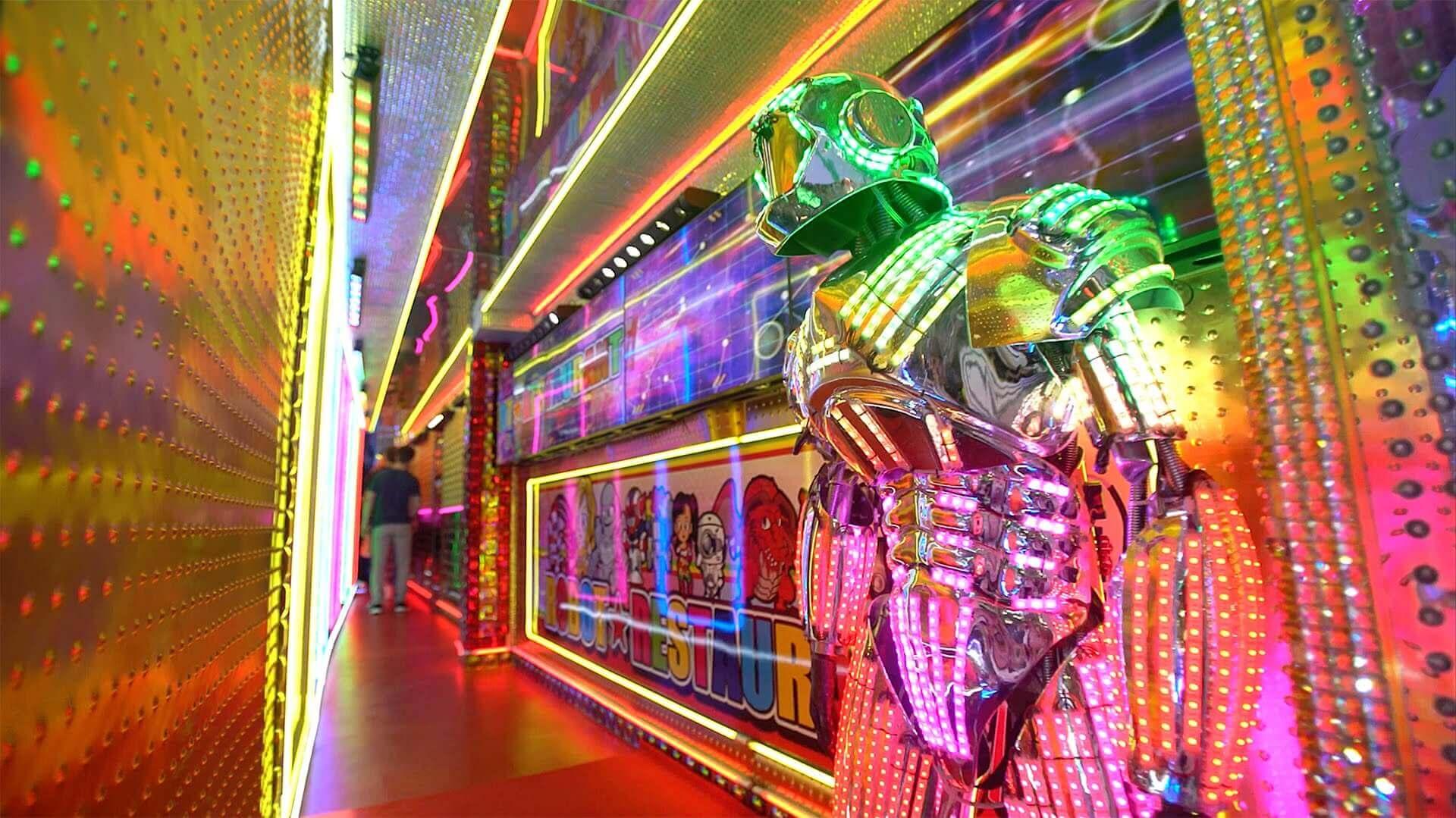 Tokyo Robot Restaurant Ticket