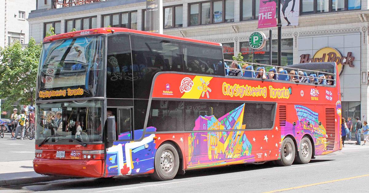 City Sightseeing Toronto Hop On Hop Off Tour