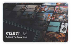 STARZPLAY Gift Cards