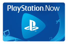 PlayStation Now Gift Cards