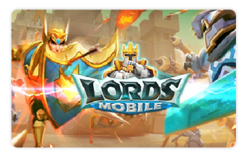 Lords Mobile Gift Card
