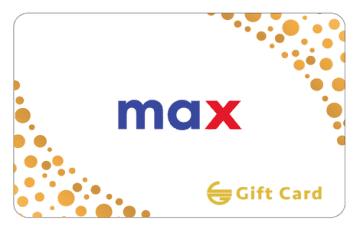 Max Fashion Gift Card