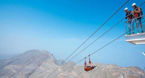 Jebel Jais Zipline Tickets