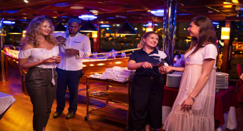 Dubai Marina Dinner Cruise Tickets