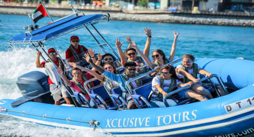 Xclusive Yachts - Speed Boat Tours