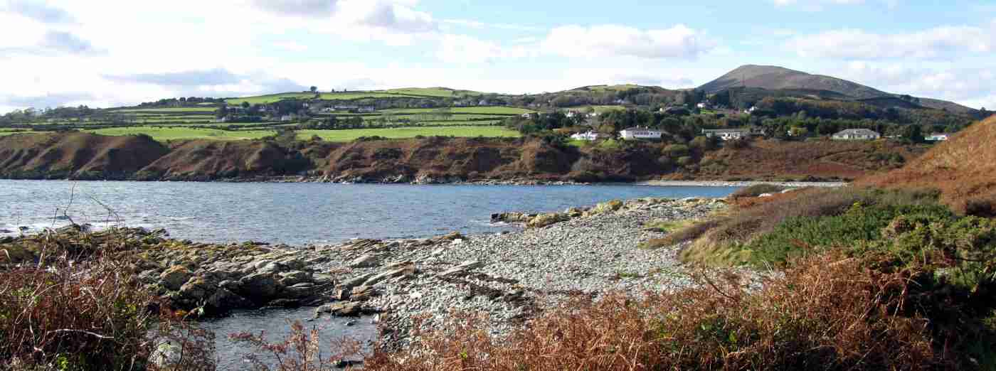 Port Mooar near Maughold in the Isle of Man
